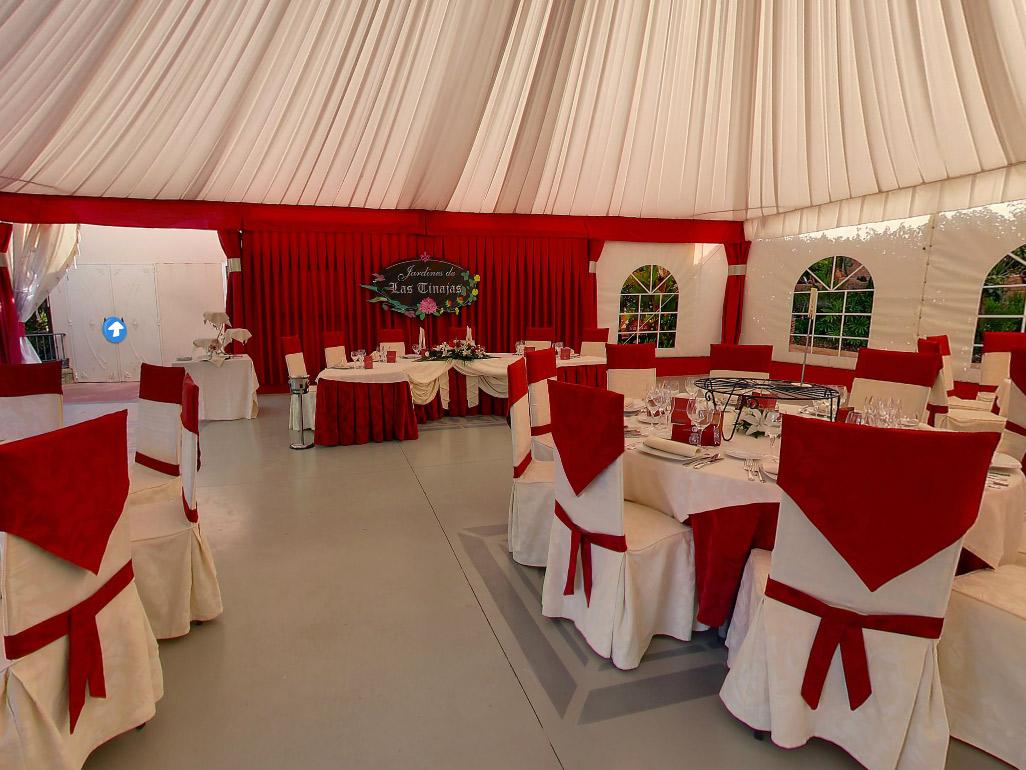 Sal n de bodas las tinajas en fuengirola en m laga gu a - Fotos decoracion salones ...