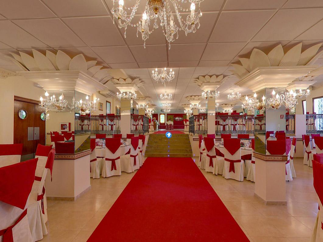 Sal n de bodas las tinajas en fuengirola en m laga gu a - Imagenes de decoracion de salones ...